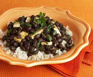 Tofu With Black Beans &amp; Garlic