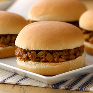Onion Turkey Joes