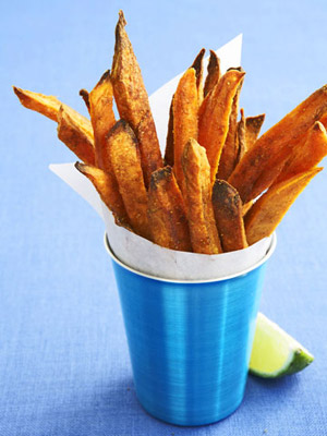 "Curried Sweet Potato ""Fries"" 