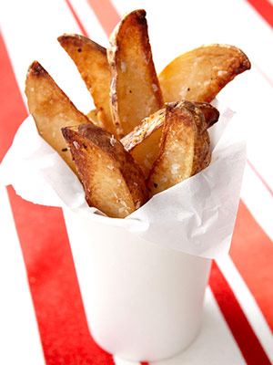 Crunchy Baked French Fries | Fitness Magazine