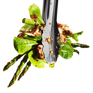 Mushroom and Asparagus Salad