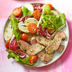 Warm Steak-and-Potato Salad