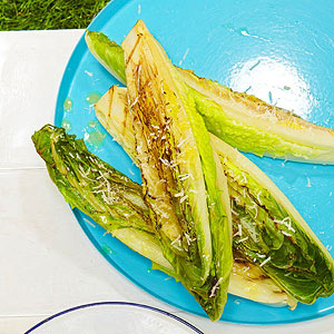 Hearts of Romaine With Lemon-Mustard Dressing