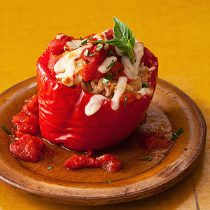 Cheesy Italian-Style Stuffed Peppers