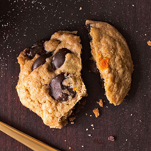 Orange and Olive Oil Chocolate Chip Cookies