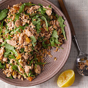 Sicilian Farro-and-Tuna Salad