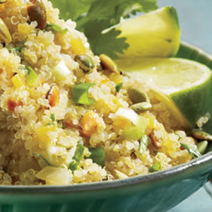 Quinoa with Latin Flavors