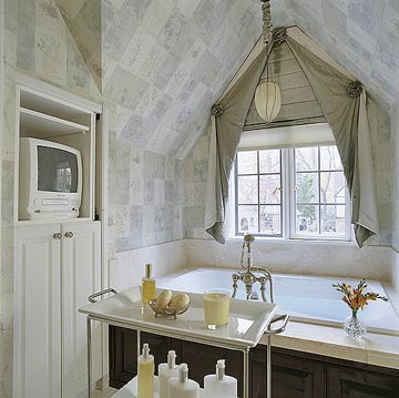 Bathroom Window Treatments, Bathroom Window Coverings