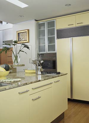 Retro finish kitchen