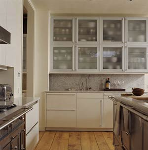 Stainless steal cabinets
