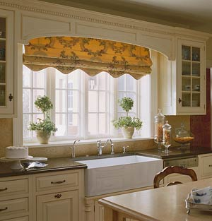 Large kitchen windows over sink