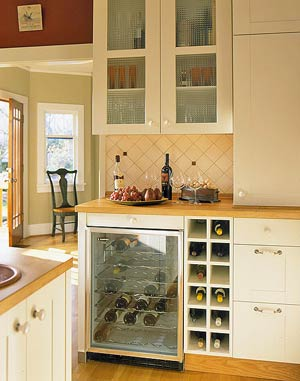 Well Rounded Wine Storage Solution Featured In Better Homes And