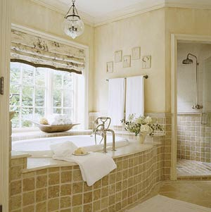 Bathroom Window Treatment Ideas - Blindsgalore.com