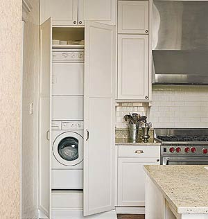 Stacking Washer Dryer On Pinterest Washer And Dryer Laundry Rooms And Laundry