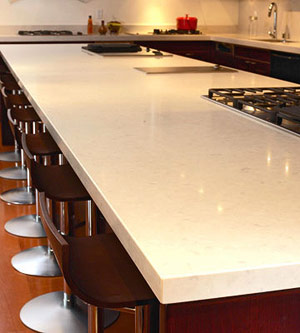 solid wood modern kitchen countertop