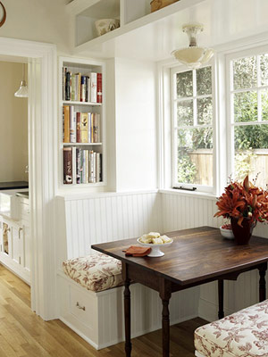 Bench seating storage