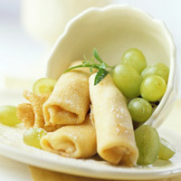 Sweet Cheese Blintzes