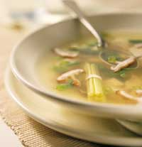 Lemongrass Chicken Soup