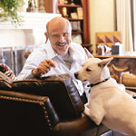 Dr. Phil With Dog