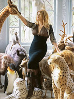 Wild things: Kirstie Alley