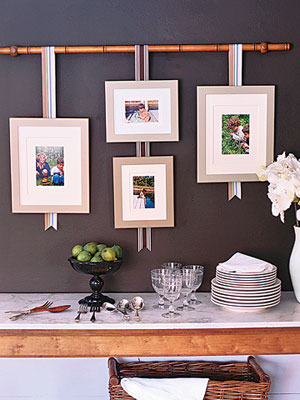 Decorating With Family Photos