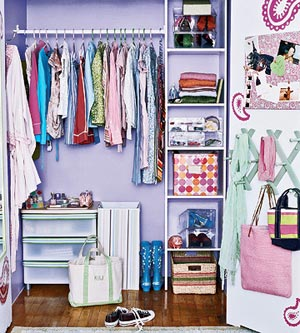 girl's closet