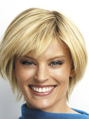 Picture of Short Hairstyles For Older Women With Glasses
