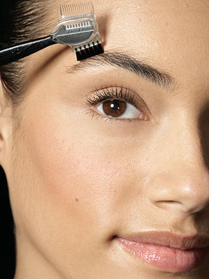 defined brows step 1