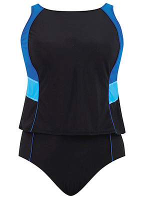 Delta Burke Sidelines 2pc tankini