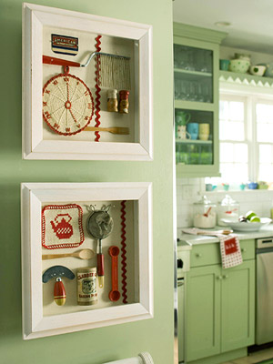 kitchen chic shadowboxes