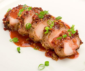 Craisins Encrusted Pork Tenderloin