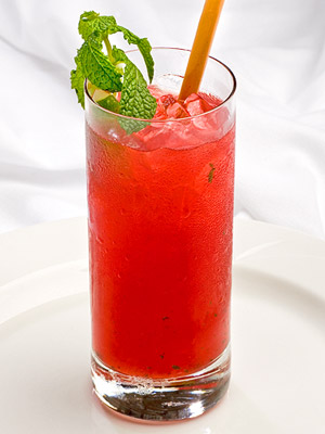 Cranberry Mojito