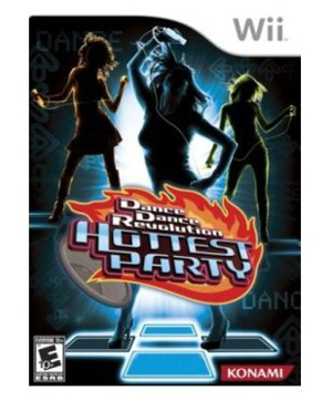 Dance Dance Revolution game cover