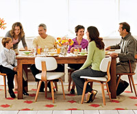 group around table