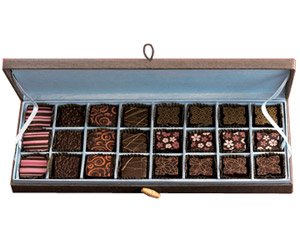 Silk Chocolate box