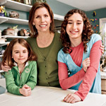 Barbara Romberg and two daughters