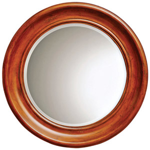 Lance Mahogany Mirror