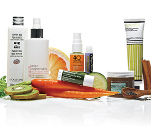 Your Skin Care Menu skin products 1