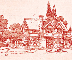 Ladies' Home Journal house plan 1895