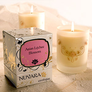 Zensual Asian Lychee Blossom Candle