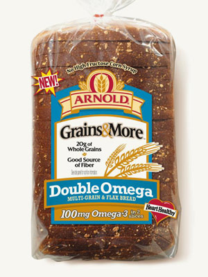 Arnold Double Omega Bread