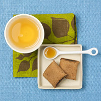 Fig cookies and tea