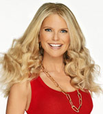 Christie Brinkley closeup
