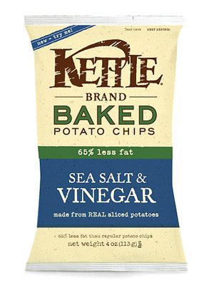 Kettle Brand Baked Potato Chips, Sea Salt & Vinegar