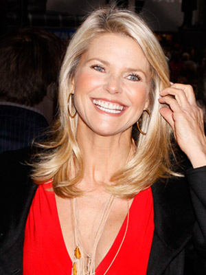Christie Brinkley, medium hair
