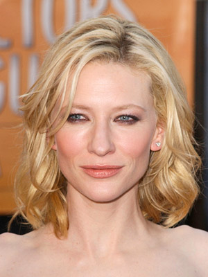 Cate Blanchette, medium hair