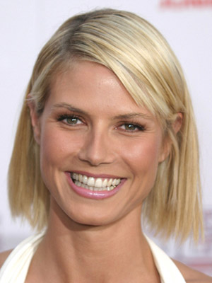 Heidi Klum, bob hairstyle