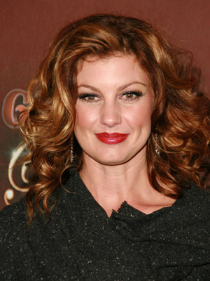 Faith Hill, curly hair