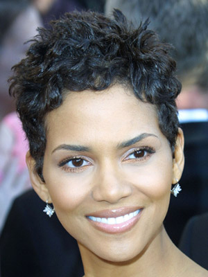 halle berry short hairstyles pictures. Halle Berry, short hair