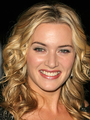 Kate Winslet, curly hair